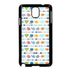 Coral Reef Fish Coral Star Samsung Galaxy Note 3 Neo Hardshell Case (black) by Mariart