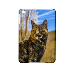 Adult Wild Cat Sitting And Watching Ipad Mini 2 Hardshell Cases by dflcprints
