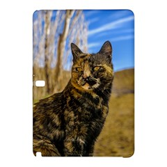 Adult Wild Cat Sitting And Watching Samsung Galaxy Tab Pro 10 1 Hardshell Case by dflcprints