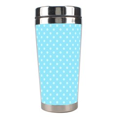 Dots Stainless Steel Travel Tumblers by Valentinaart