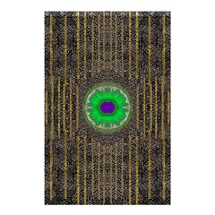 In The Stars And Pearls Is A Flower Shower Curtain 48  X 72  (small)  by pepitasart