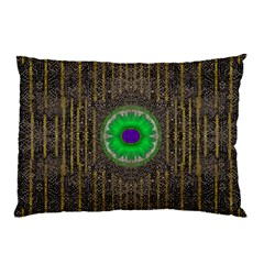 In The Stars And Pearls Is A Flower Pillow Case (two Sides) by pepitasart