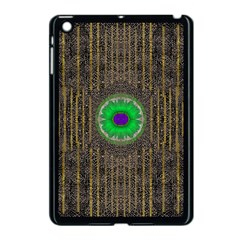 In The Stars And Pearls Is A Flower Apple Ipad Mini Case (black) by pepitasart