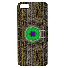 In The Stars And Pearls Is A Flower Apple Iphone 5 Hardshell Case With Stand by pepitasart