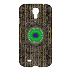 In The Stars And Pearls Is A Flower Samsung Galaxy S4 I9500/i9505 Hardshell Case by pepitasart