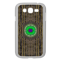 In The Stars And Pearls Is A Flower Samsung Galaxy Grand Duos I9082 Case (white) by pepitasart