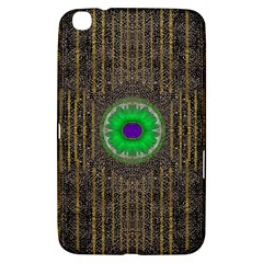 In The Stars And Pearls Is A Flower Samsung Galaxy Tab 3 (8 ) T3100 Hardshell Case  by pepitasart
