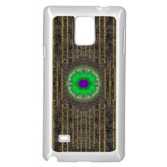 In The Stars And Pearls Is A Flower Samsung Galaxy Note 4 Case (white)