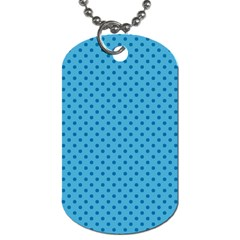 Dots Dog Tag (two Sides) by Valentinaart