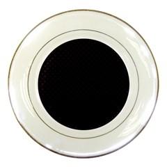 Dots Porcelain Plates by Valentinaart