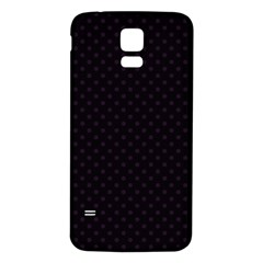 Dots Samsung Galaxy S5 Back Case (white) by Valentinaart