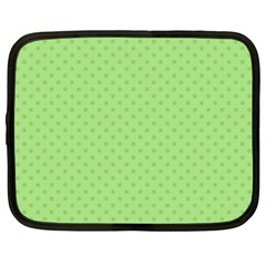 Dots Netbook Case (large) by Valentinaart