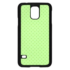 Dots Samsung Galaxy S5 Case (black) by Valentinaart