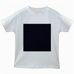 Dots Kids White T Shirts by Valentinaart