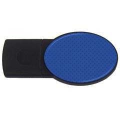 Dots Usb Flash Drive Oval (2 Gb) by Valentinaart