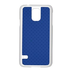 Dots Samsung Galaxy S5 Case (white) by Valentinaart