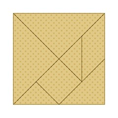 Dots Acrylic Tangram Puzzle (6  X 6 ) by Valentinaart
