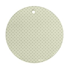 Dots Ornament (round) by Valentinaart