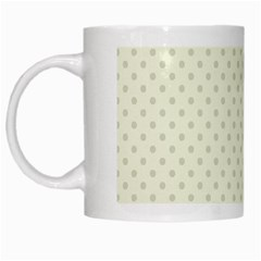 Dots White Mugs by Valentinaart