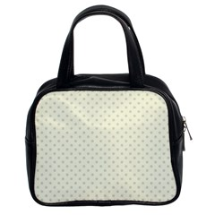 Dots Classic Handbags (2 Sides) by Valentinaart