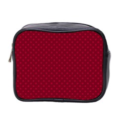 Dots Mini Toiletries Bag 2 Side by Valentinaart