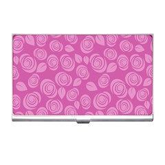 Floral Pattern Business Card Holders by Valentinaart