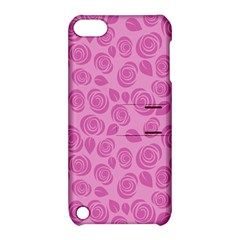 Floral Pattern Apple Ipod Touch 5 Hardshell Case With Stand by Valentinaart
