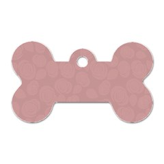 Floral Pattern Dog Tag Bone (one Side) by Valentinaart