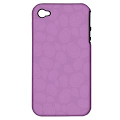 Floral Pattern Apple Iphone 4/4s Hardshell Case (pc+silicone) by Valentinaart