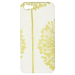Flower Floral Yellow Apple Iphone 5 Hardshell Case by Mariart