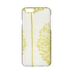 Flower Floral Yellow Apple Iphone 6/6s Hardshell Case by Mariart