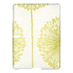 Flower Floral Yellow Samsung Galaxy Tab S (10 5 ) Hardshell Case  by Mariart
