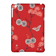 Dandelions Red Butterfly Flower Floral Apple Ipad Mini Hardshell Case (compatible With Smart Cover) by Mariart