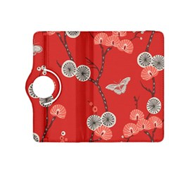 Dandelions Red Butterfly Flower Floral Kindle Fire Hdx 8 9  Flip 360 Case by Mariart