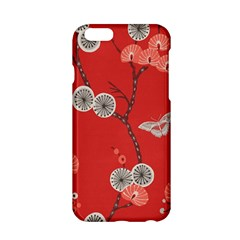 Dandelions Red Butterfly Flower Floral Apple Iphone 6/6s Hardshell Case by Mariart