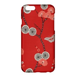 Dandelions Red Butterfly Flower Floral Apple Iphone 6 Plus/6s Plus Hardshell Case by Mariart