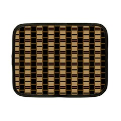Geometric Shapes Plaid Line Netbook Case (small)  by Mariart