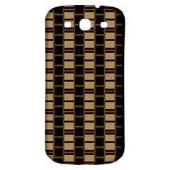 Geometric Shapes Plaid Line Samsung Galaxy S3 S Iii Classic Hardshell Back Case by Mariart