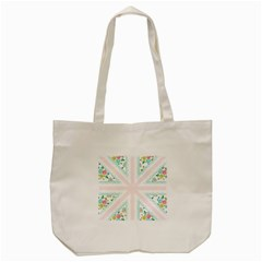 Frame Flower Floral Sunflower Line Tote Bag (cream) by Mariart