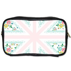 Frame Flower Floral Sunflower Line Toiletries Bags 2 Side by Mariart