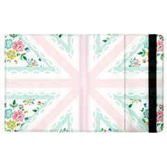 Frame Flower Floral Sunflower Line Apple Ipad 2 Flip Case by Mariart