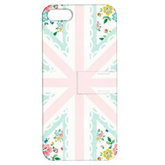 Frame Flower Floral Sunflower Line Apple Iphone 5 Hardshell Case With Stand by Mariart