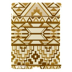 Geometric Seamless Aztec Gold Apple Ipad 3/4 Hardshell Case (compatible With Smart Cover) by Mariart