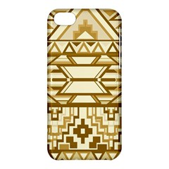 Geometric Seamless Aztec Gold Apple Iphone 5c Hardshell Case by Mariart