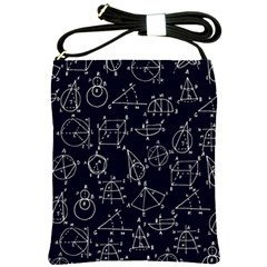 Geometry Geometry Formula Shoulder Sling Bags by Mariart