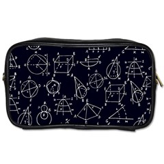 Geometry Geometry Formula Toiletries Bags 2 Side by Mariart