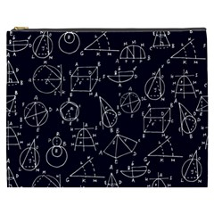 Geometry Geometry Formula Cosmetic Bag (xxxl)  by Mariart
