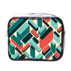 German Synth Stock Music Plaid Mini Toiletries Bags by Mariart