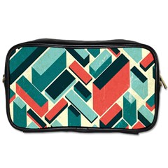 German Synth Stock Music Plaid Toiletries Bags 2 Side by Mariart