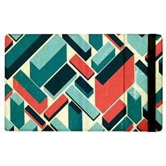 German Synth Stock Music Plaid Apple Ipad 2 Flip Case by Mariart